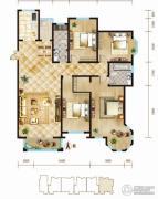 锦麟4室2厅2卫191平方米户型图