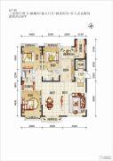 欧华逸景香山3室2厅2卫180平方米户型图