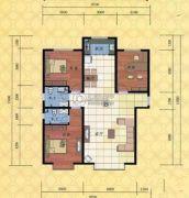 电力佳苑3室2厅2卫149平方米户型图