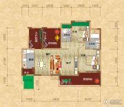 光瑞江都华宸2室2厅2卫99平方米户型图