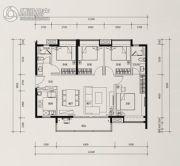时代花城4室2厅2卫0平方米户型图