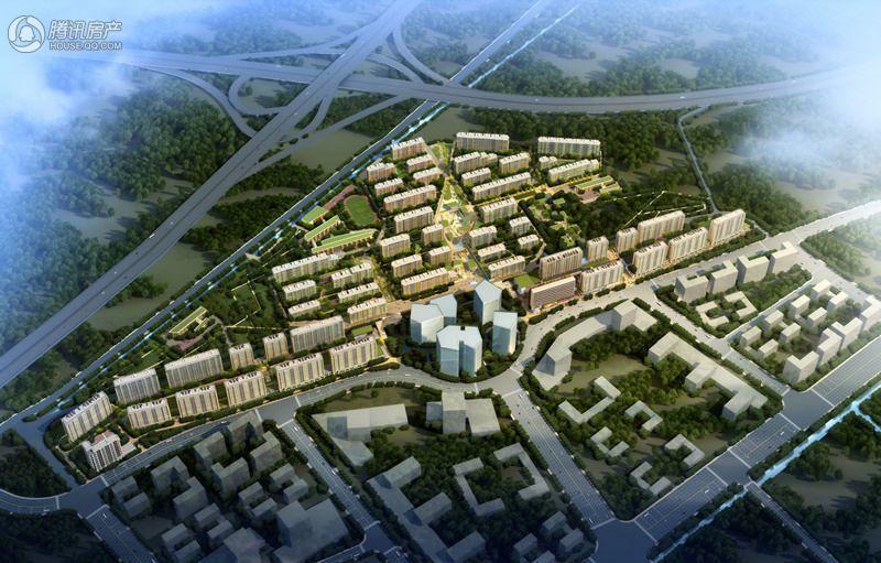 杨柳郡鸟瞰图