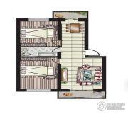 阳光新城2室2厅1卫0平方米户型图