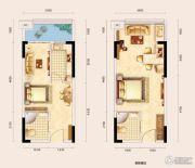 兴亚沙滨国际1室0厅0卫0平方米户型图