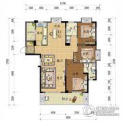 上上城・壹号院4室2厅2卫139平方米户型图