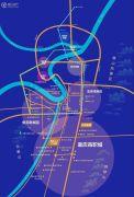 西部人才产业园交通图