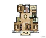 大发融悦3室2厅1卫0平方米户型图