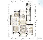 青岛星河湾3室2厅0卫203平方米户型图