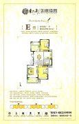 东大街如意佳园3室2厅1卫101平方米户型图