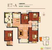 国瑞瑞城3室2厅2卫136平方米户型图