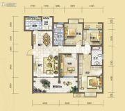汇川喜来公社4室2厅2卫134平方米户型图