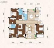 畔山林语5室2厅3卫207平方米户型图