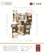 绿谷庄园5室2厅3卫195平方米户型图