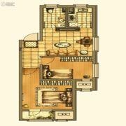 银亿格兰郡2室1厅1卫79平方米户型图