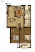 广厦・聚隆广场2室2厅1卫114平方米户型图