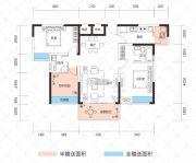 云鼎・天阙3室2厅2卫90--109平方米户型图