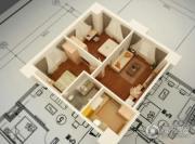 金色年华公馆1室1厅1卫84平方米户型图