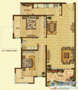 k2海棠湾棠院2室2厅1卫0平方米户型图