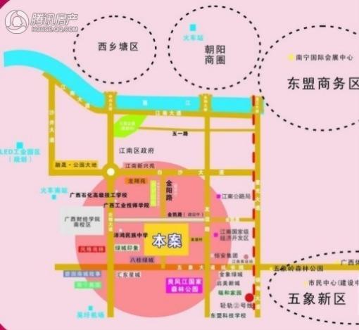 中房乐汇购物广场交通图
