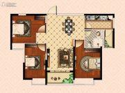 南昌恒大御景(原恒大帝景)3室2厅1卫103平方米户型图