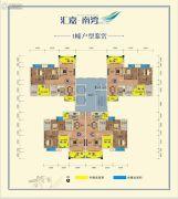 汇嘉・南湾3室2厅2卫97--98平方米户型图
