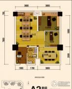 恒邦・时代青江二期1室1厅1卫75平方米户型图