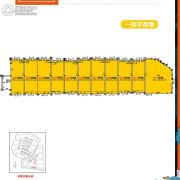 碧桂园北纬21°76平方米户型图