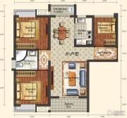 城中半岛2室2厅1卫101--102平方米户型图