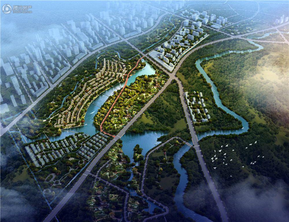 保利两河森林规划图