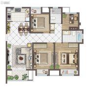 苏胥湾4室2厅2卫127平方米户型图