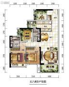 龙光城4室2厅2卫0平方米户型图