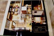 锦缘里嘉园2室2厅1卫77平方米户型图