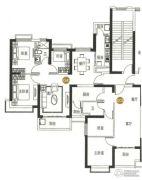 海陵岛恒大御景湾2室2厅1卫81--105平方米户型图