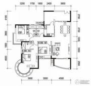 君御海城2室2厅2卫0平方米户型图