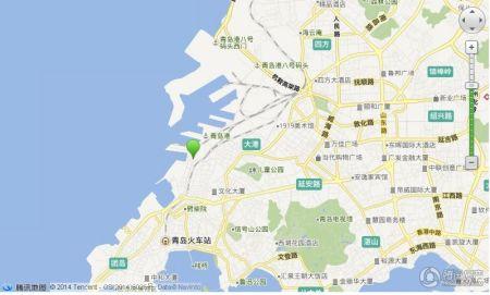 青岛重庆北路271号地图