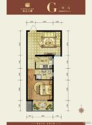水上人家(翠堤・御墅)1室1厅1卫58平方米户型图