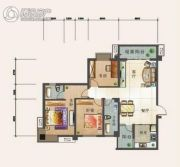 幸福汇3室2厅2卫118平方米户型图