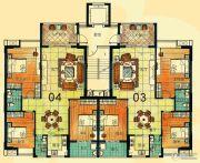 尚景康园127平方米户型图