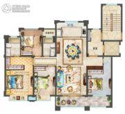 中梁永宁首府4室2厅2卫142平方米户型图