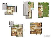 保利礼墅3室3厅3卫263平方米户型图