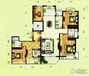 滨河国际4室2厅2卫163平方米户型图