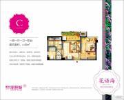 阳光城花语海1室1厅1卫48平方米户型图