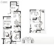 永通公馆4室3厅2卫159平方米户型图