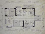 镒建世纪城4室2厅2卫144平方米户型图