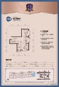工大左岸2室1厅1卫0平方米户型图