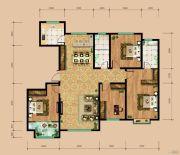 东岳国际4室2厅2卫169平方米户型图