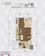 英祥・春天广场1室1厅1卫27平方米户型图