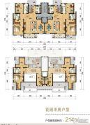 天津海航城0室0厅0卫214平方米户型图