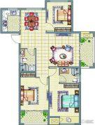 梧桐公馆3室2厅1卫94--118平方米户型图