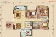中建・伴山壹号5室2厅2卫121平方米户型图